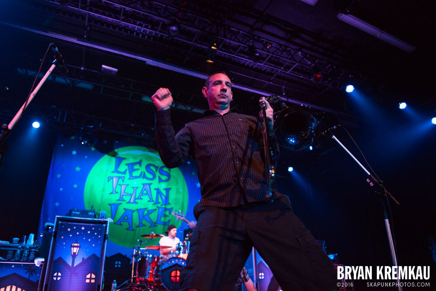 Less Than Jake @ Best Buy Theater, NYC - 6.16.15 (35)
