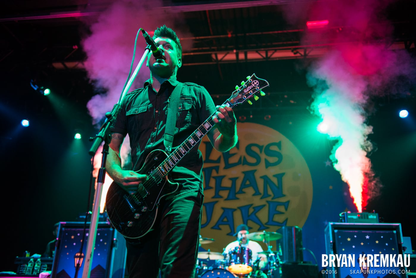 Less Than Jake @ Best Buy Theater, NYC - 6.16.15 (22)