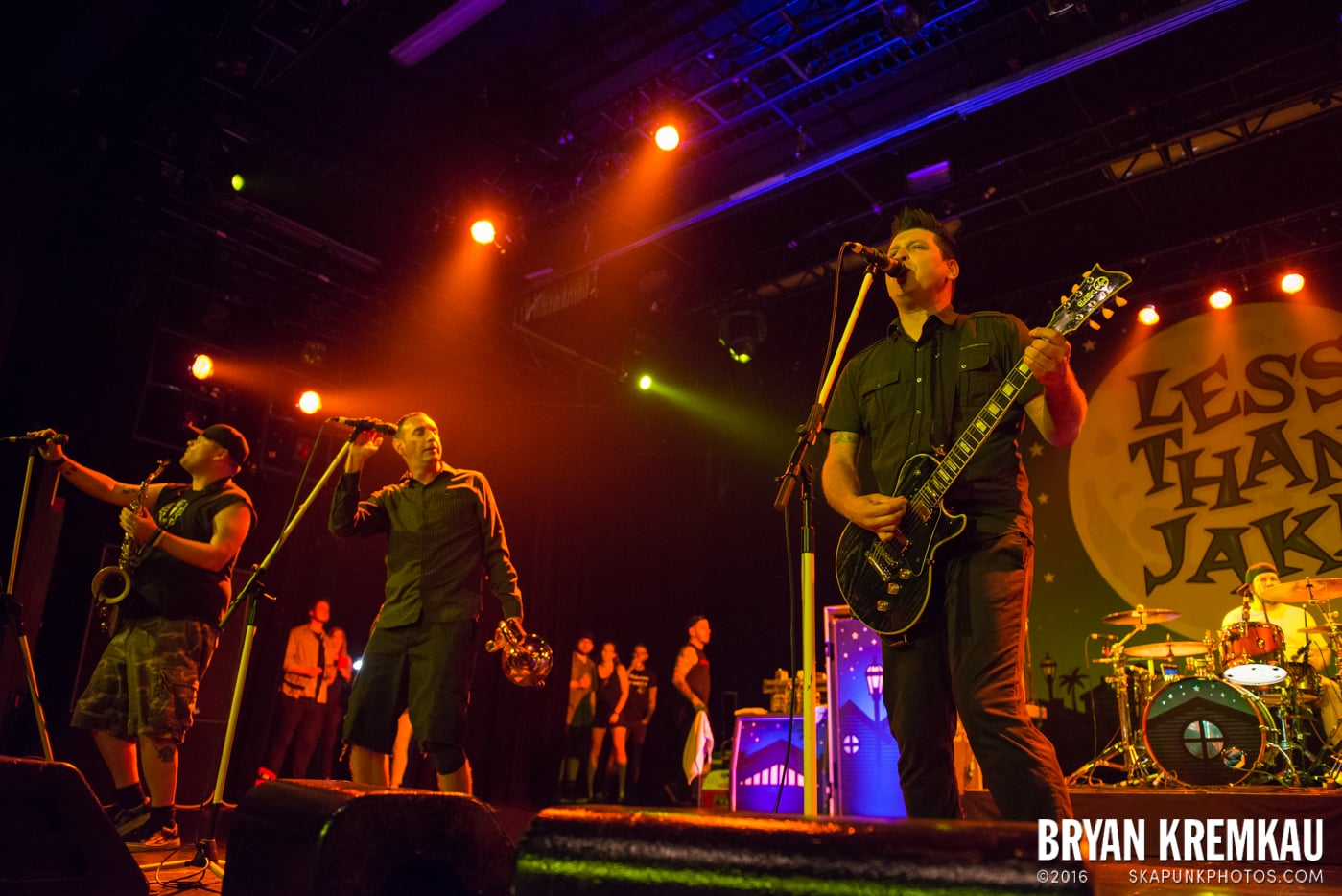 Less Than Jake @ Best Buy Theater, NYC - 6.16.15 (15)