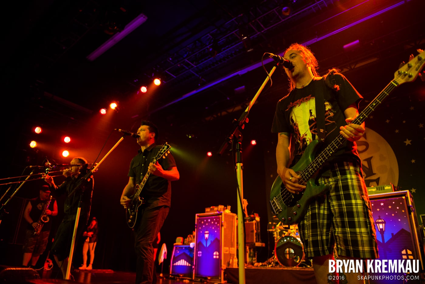 Less Than Jake @ Best Buy Theater, NYC - 6.16.15 (9)