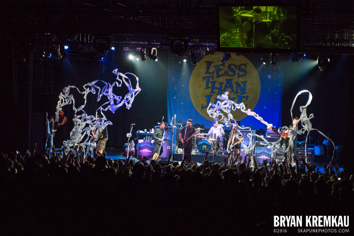 Less Than Jake @ Best Buy Theater, NYC - 6.16.15 (7)