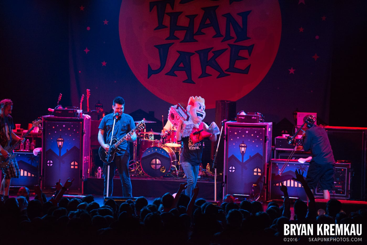 Less Than Jake @ Best Buy Theater, NYC - 6.16.15 (6)