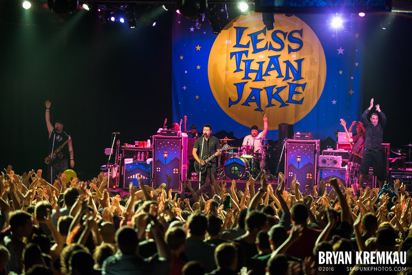 Less Than Jake @ Best Buy Theater, NYC - 6.16.15 (3)