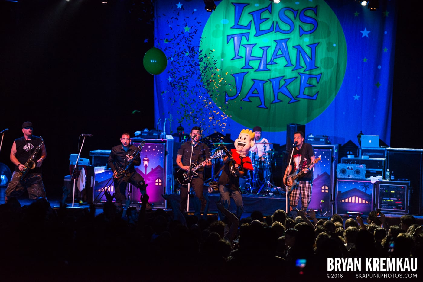 Less Than Jake @ Best Buy Theater, NYC - 6.16.15 (2)