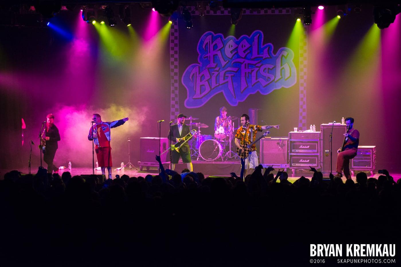 Reel Big Fish @ Best Buy Theater, NYC - 6.16.15 (1)