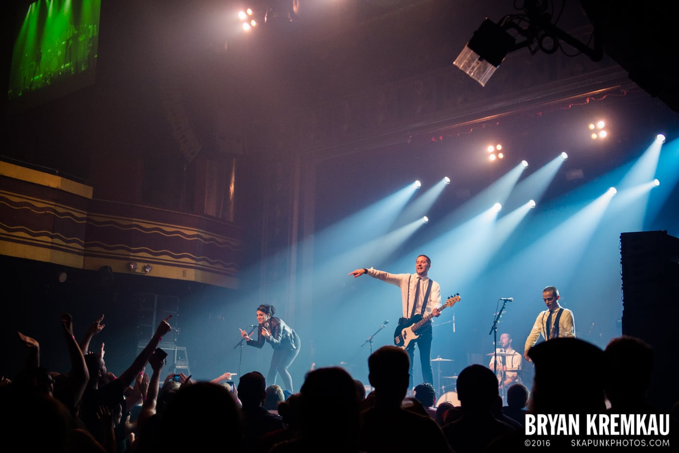 The Interrupters @ Webster Hall, NYC - 7.15.15 (2)
