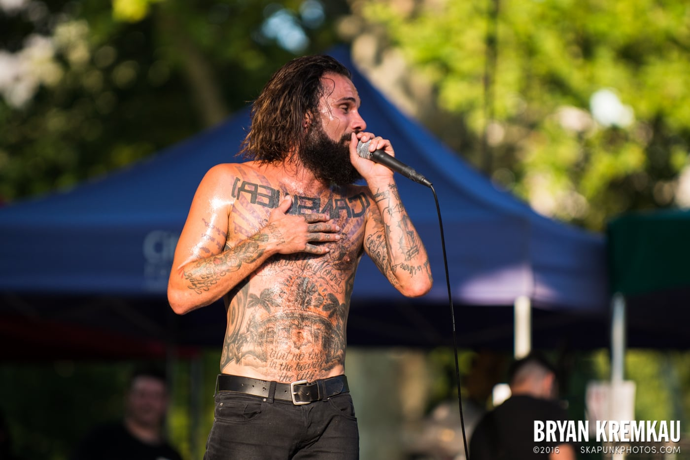 Letlive @ Central Park SummerStage, NYC - 7.28.15 (1)