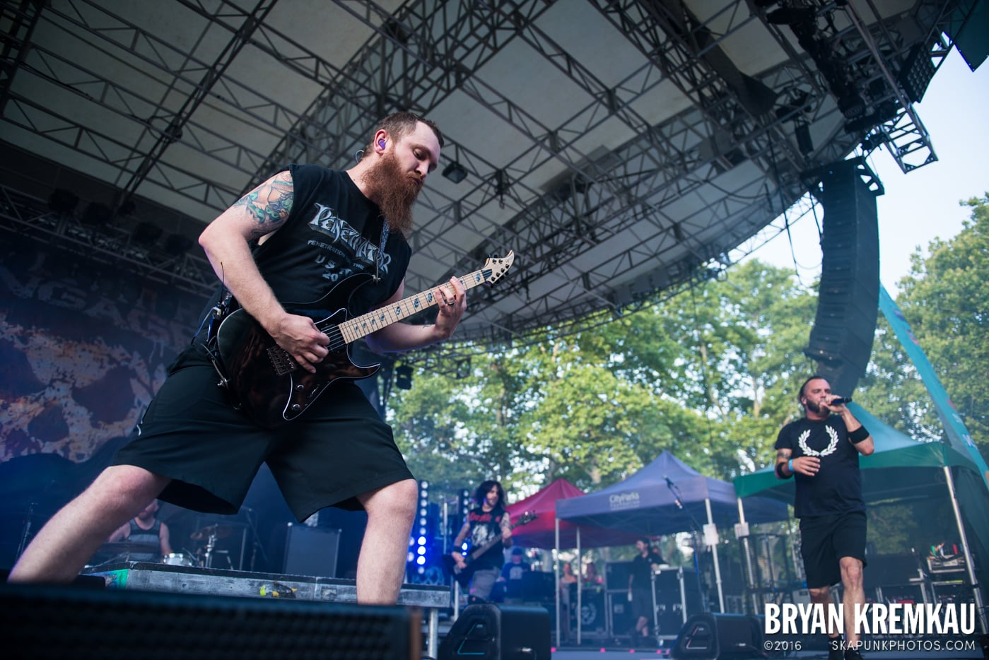 Killswitch Engage @ Central Park SummerStage, NYC - 7.28.15 (11)