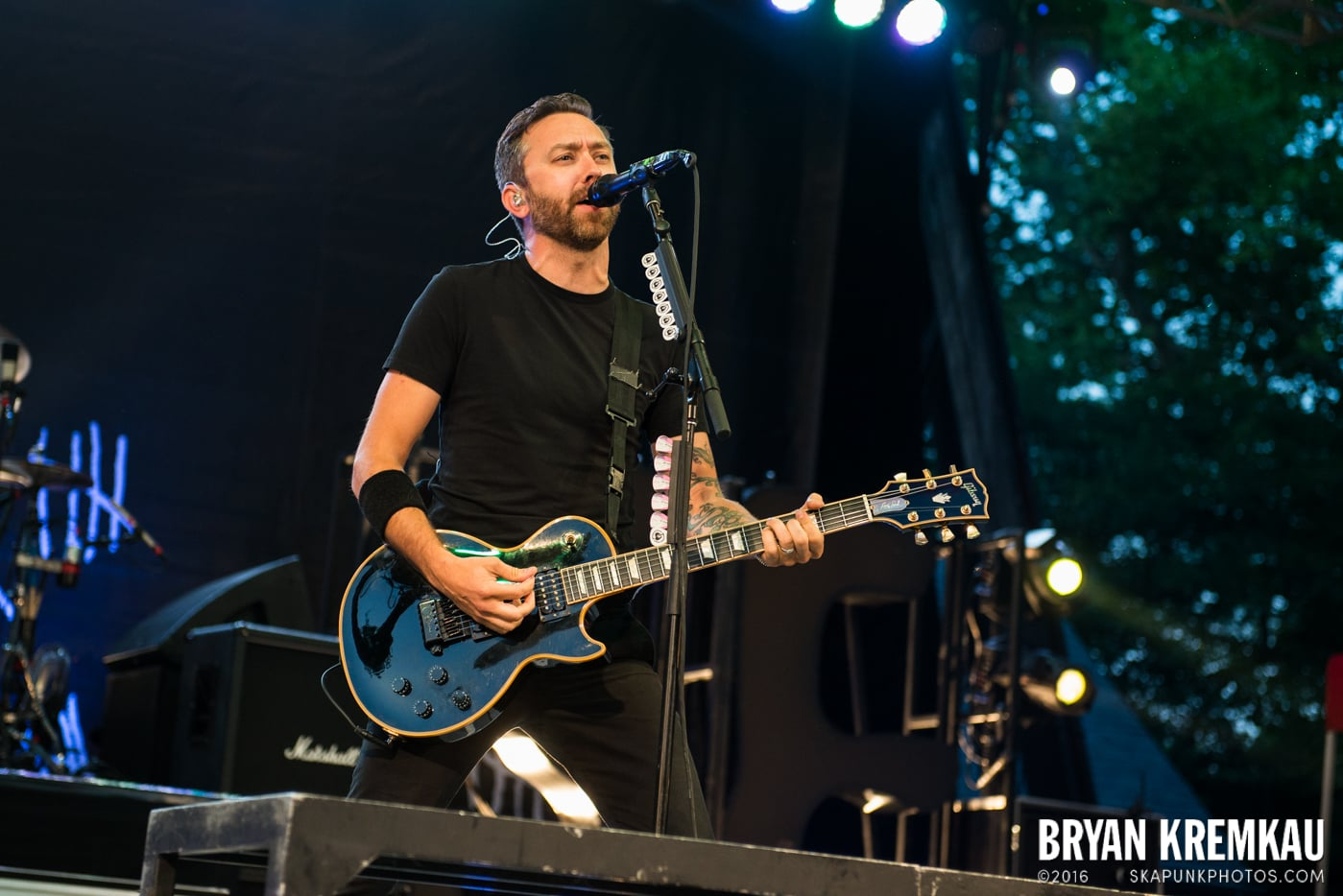Rise Against @ Central Park SummerStage, NYC - 7.28.15 (59)
