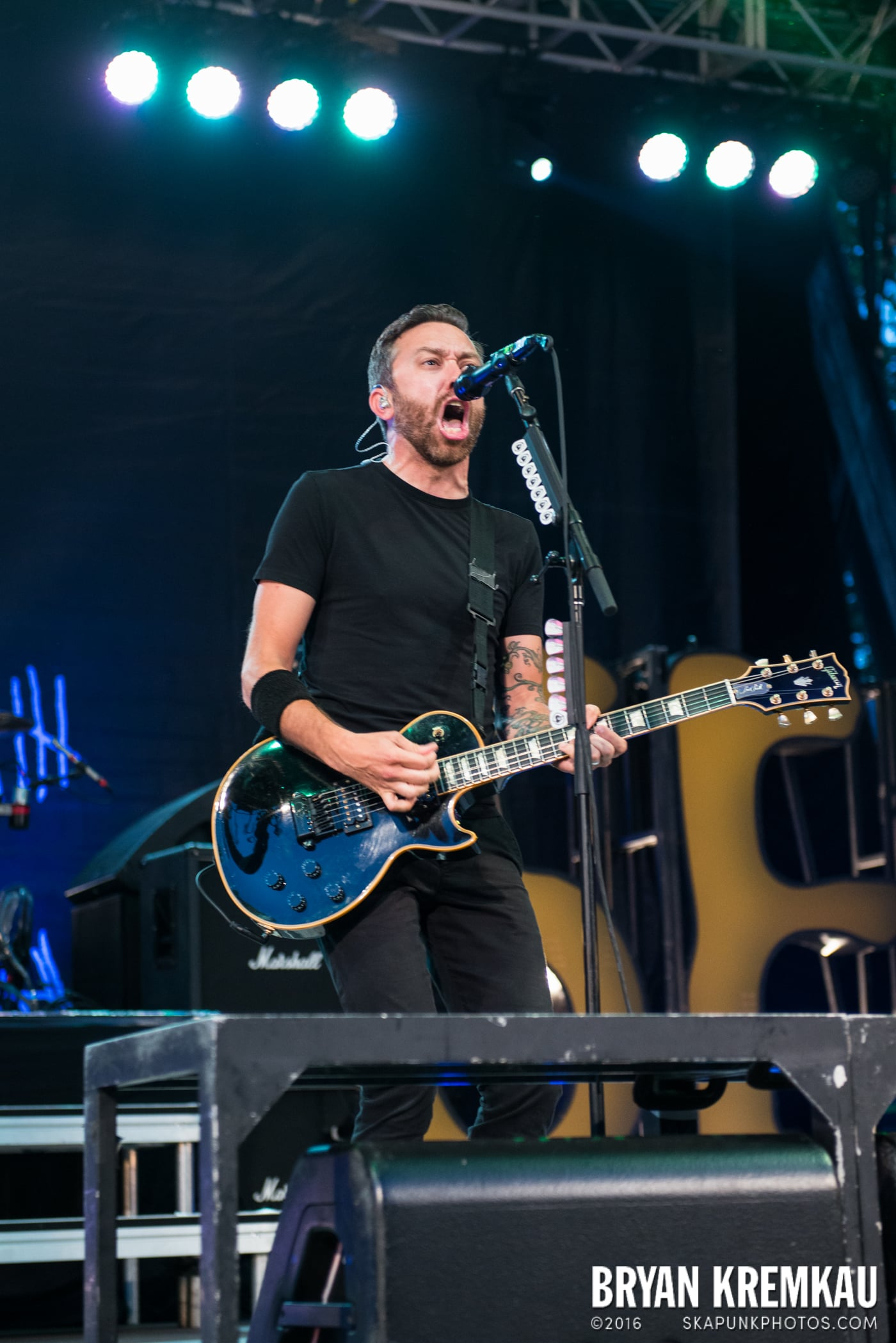 Rise Against @ Central Park SummerStage, NYC - 7.28.15 (58)