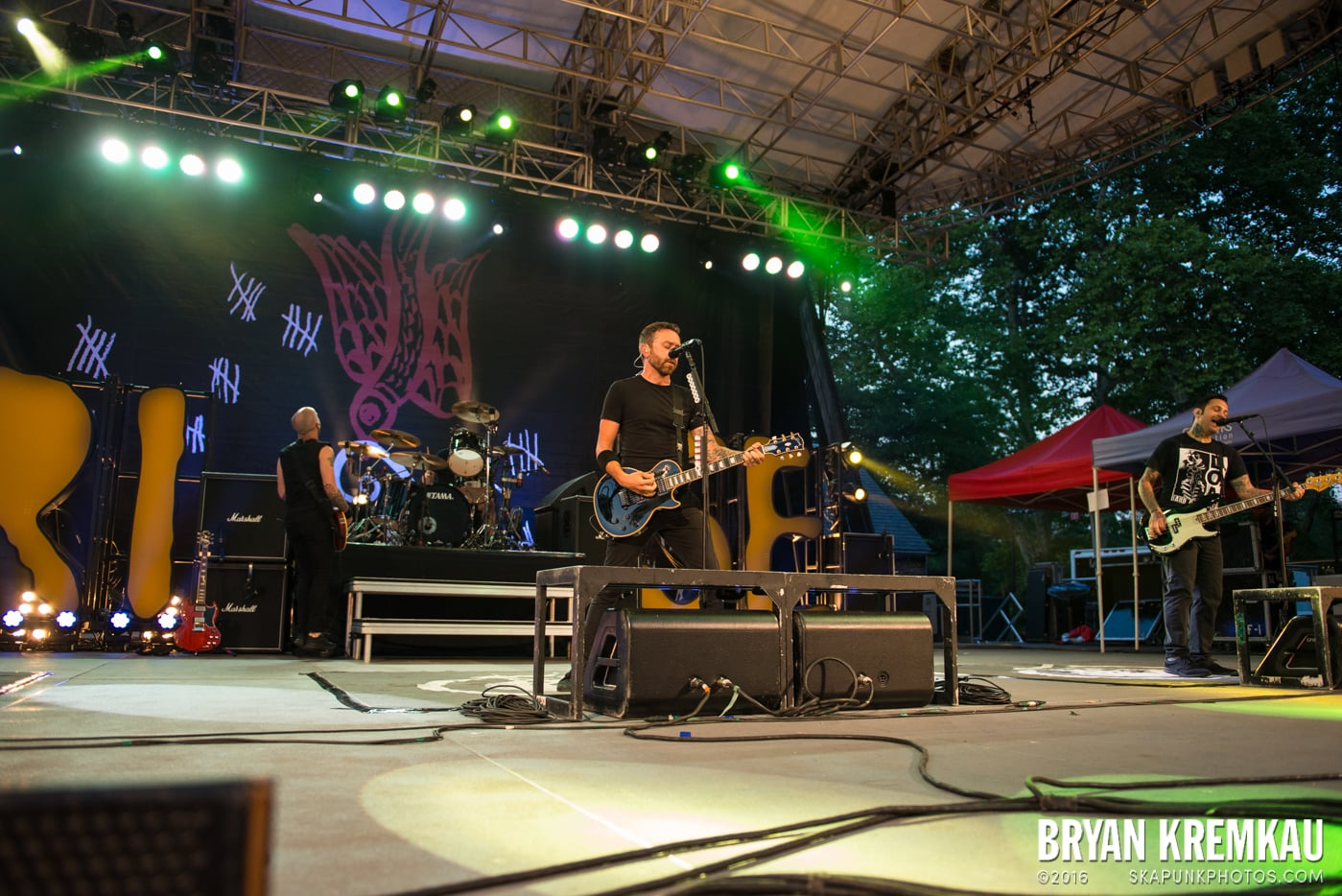 Rise Against @ Central Park SummerStage, NYC - 7.28.15 (55)