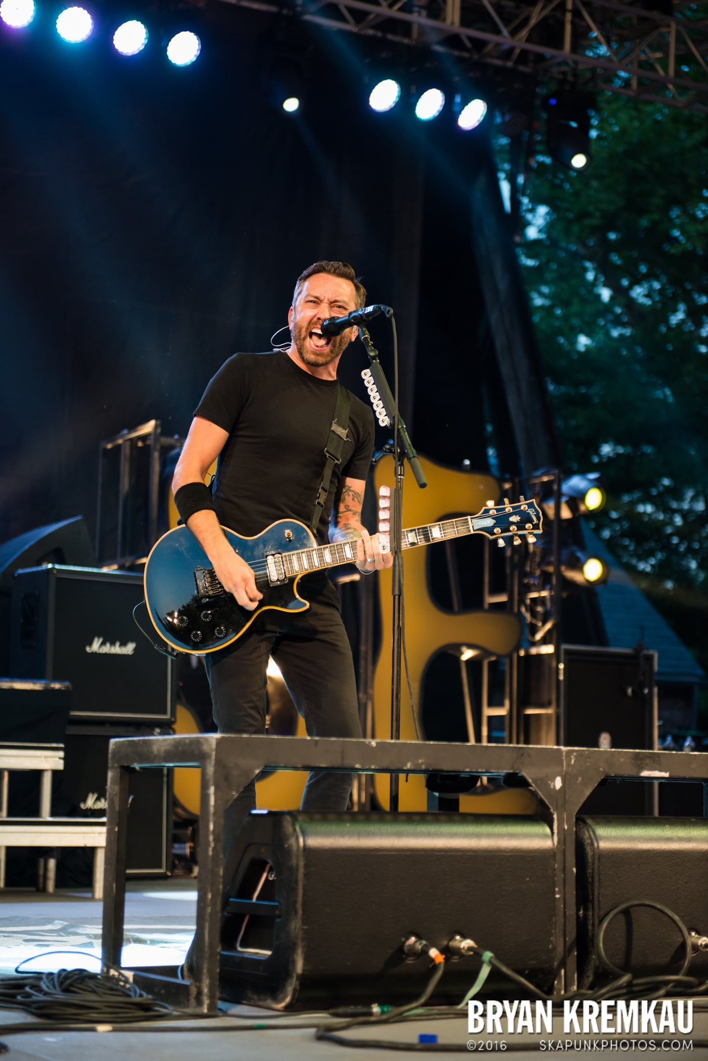 Rise Against @ Central Park SummerStage, NYC - 7.28.15 (52)