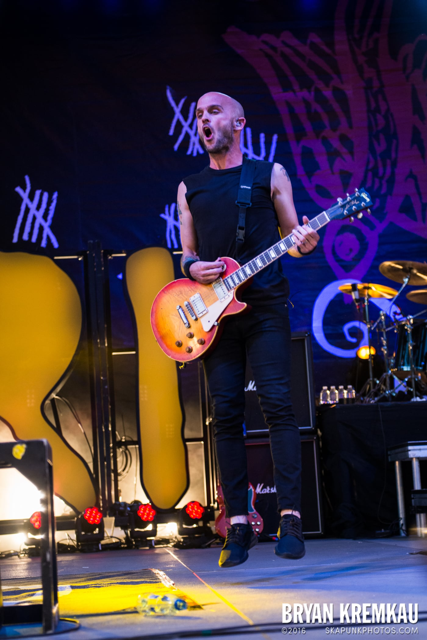 Rise Against @ Central Park SummerStage, NYC - 7.28.15 (47)