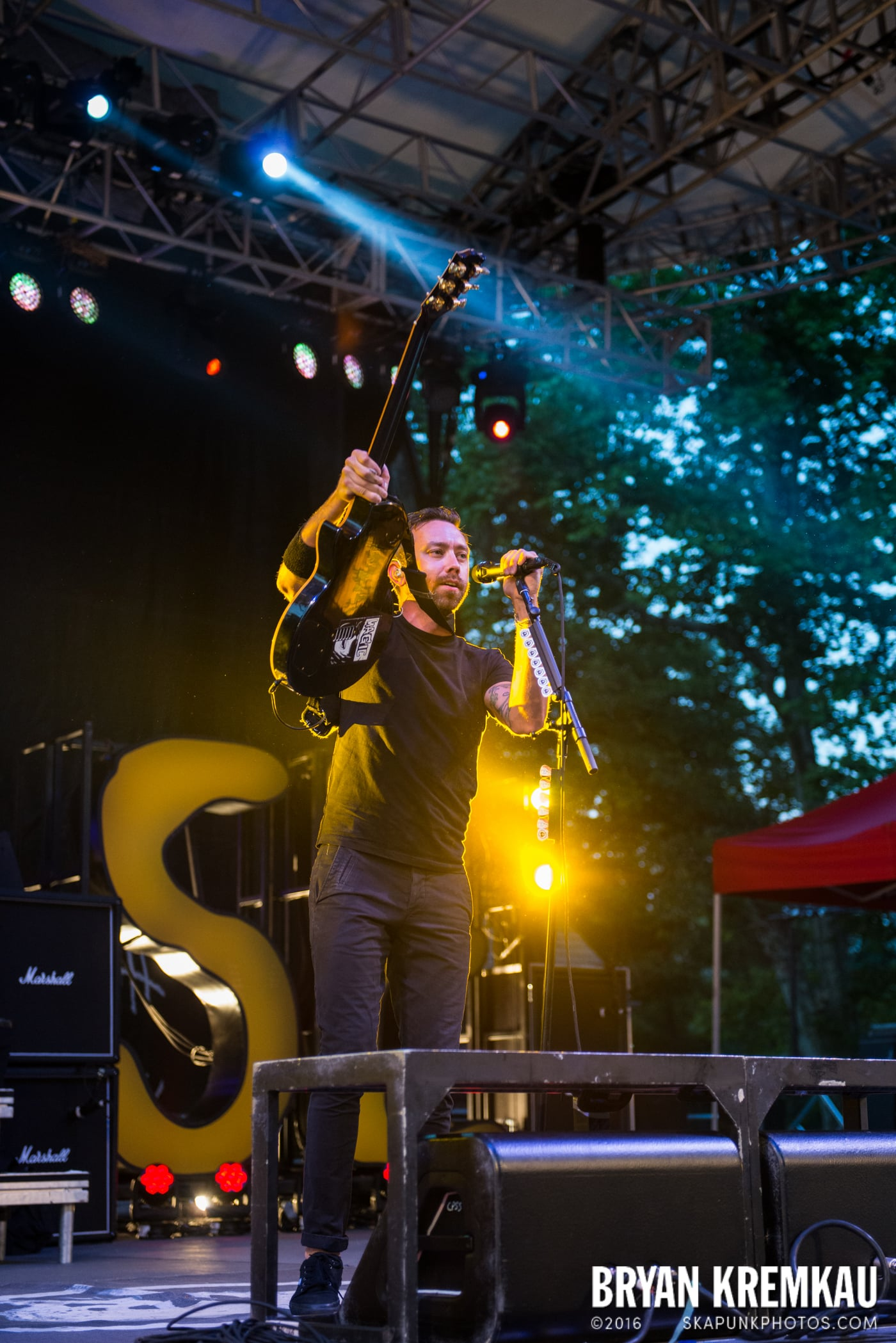 Rise Against @ Central Park SummerStage, NYC - 7.28.15 (45)