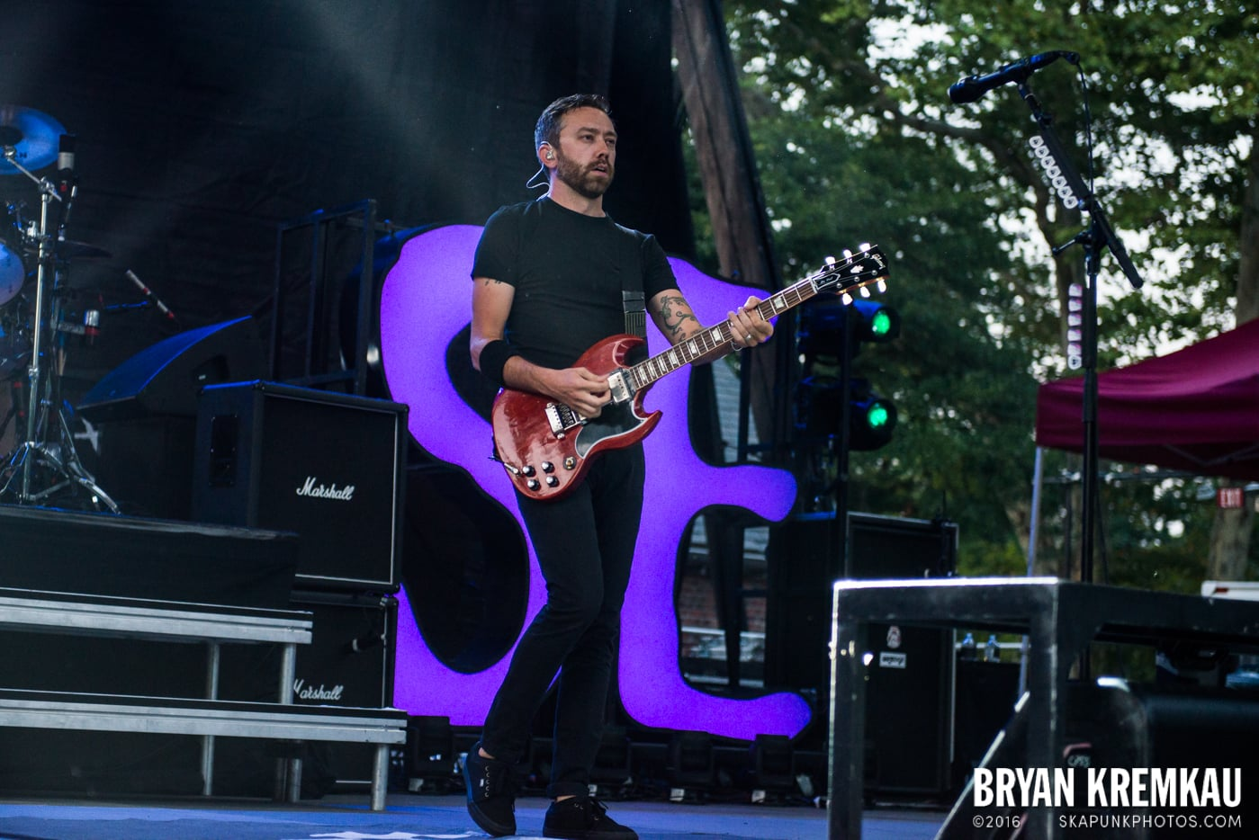 Rise Against @ Central Park SummerStage, NYC - 7.28.15 (40)