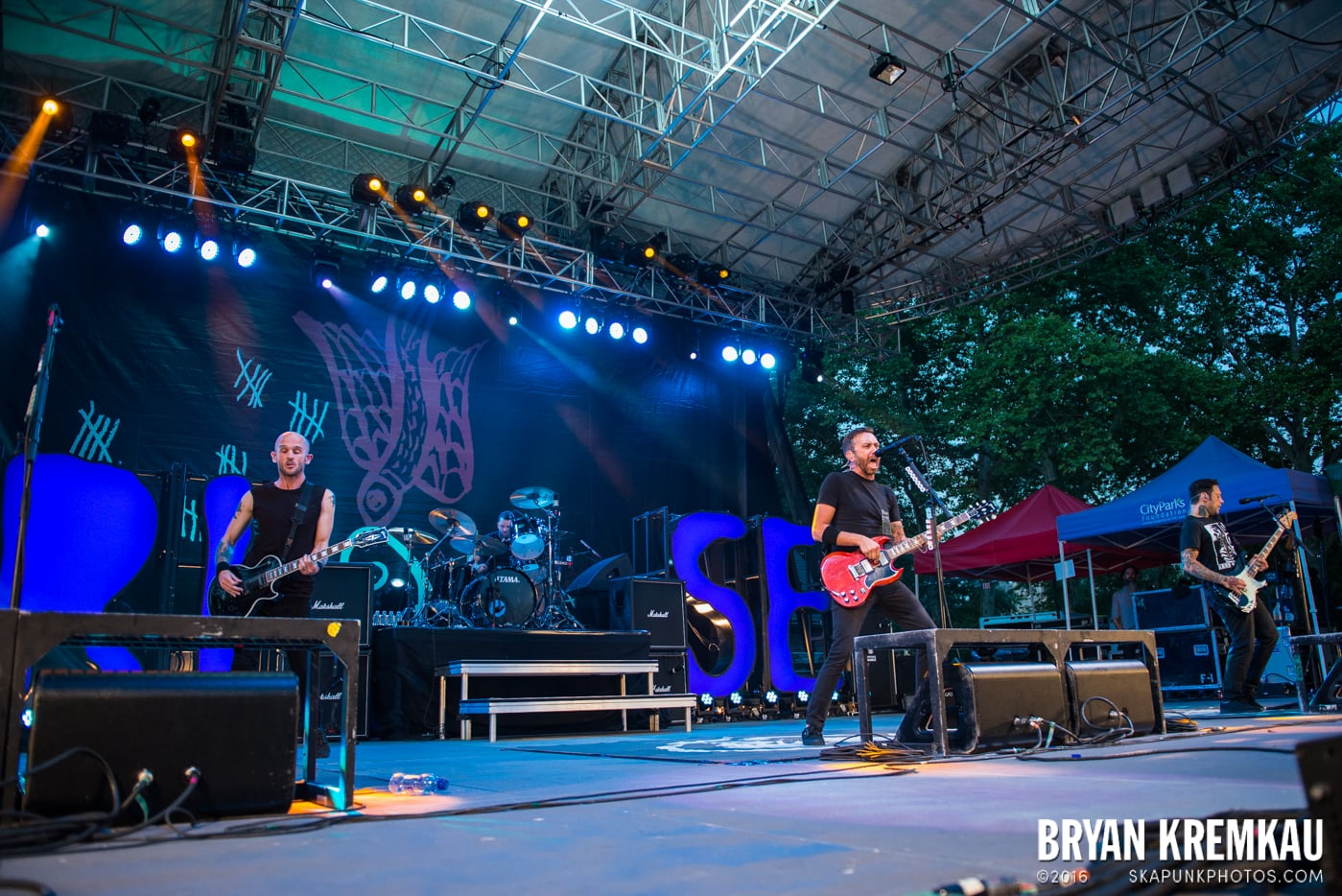 Rise Against @ Central Park SummerStage, NYC - 7.28.15 (38)