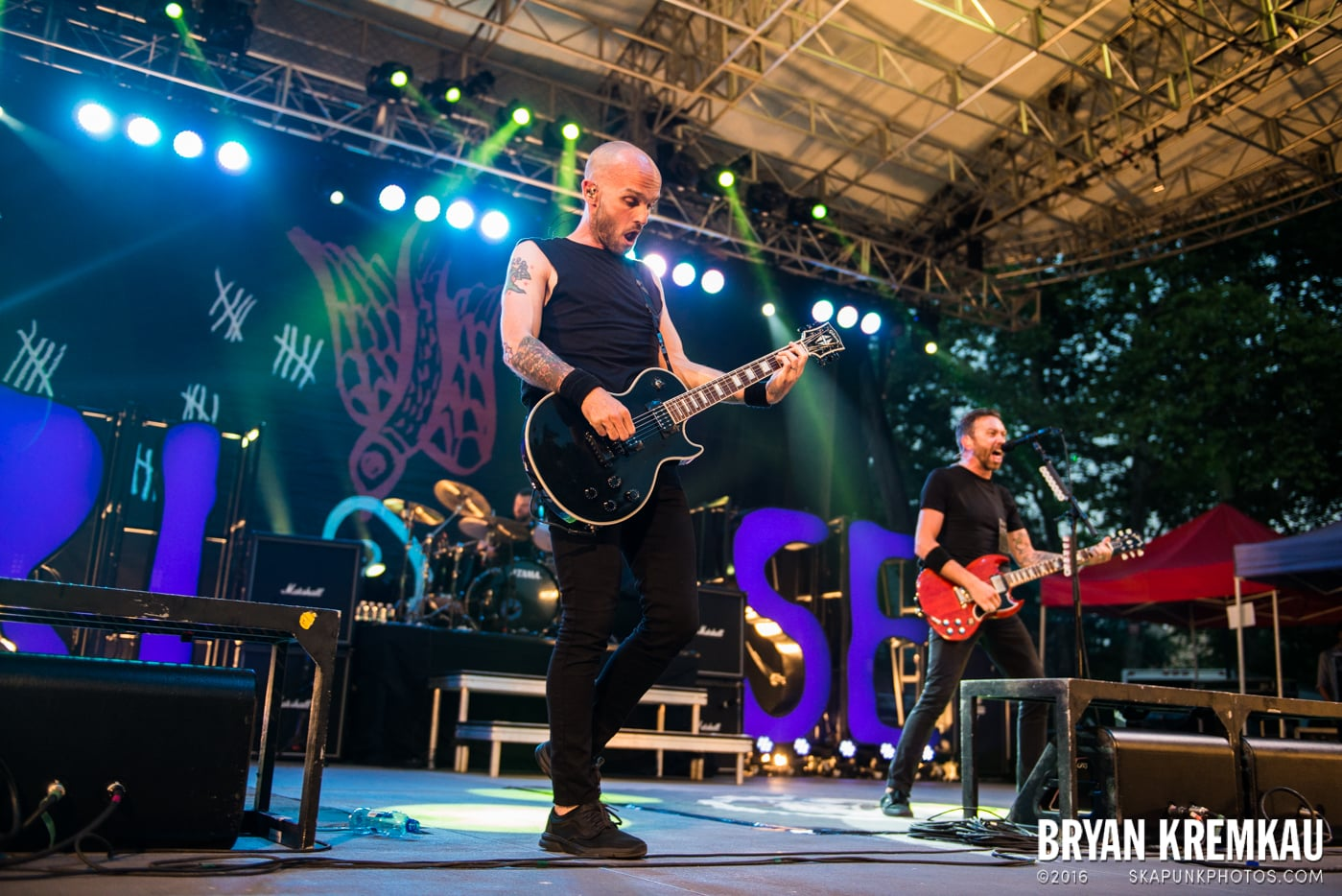 Rise Against @ Central Park SummerStage, NYC - 7.28.15 (37)