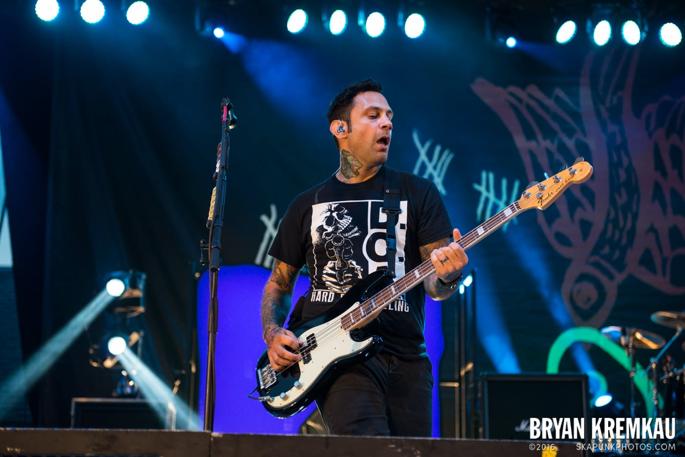 Rise Against @ Central Park SummerStage, NYC - 7.28.15 (33)