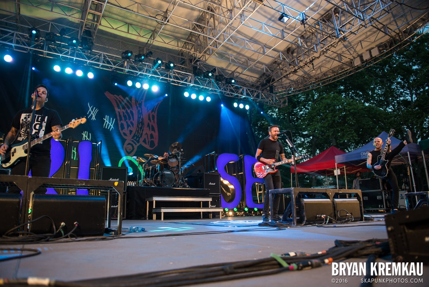 Rise Against @ Central Park SummerStage, NYC - 7.28.15 (32)
