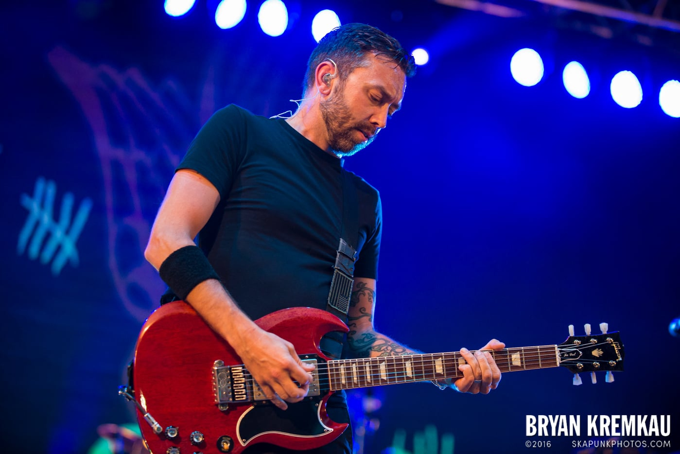 Rise Against @ Central Park SummerStage, NYC - 7.28.15 (30)