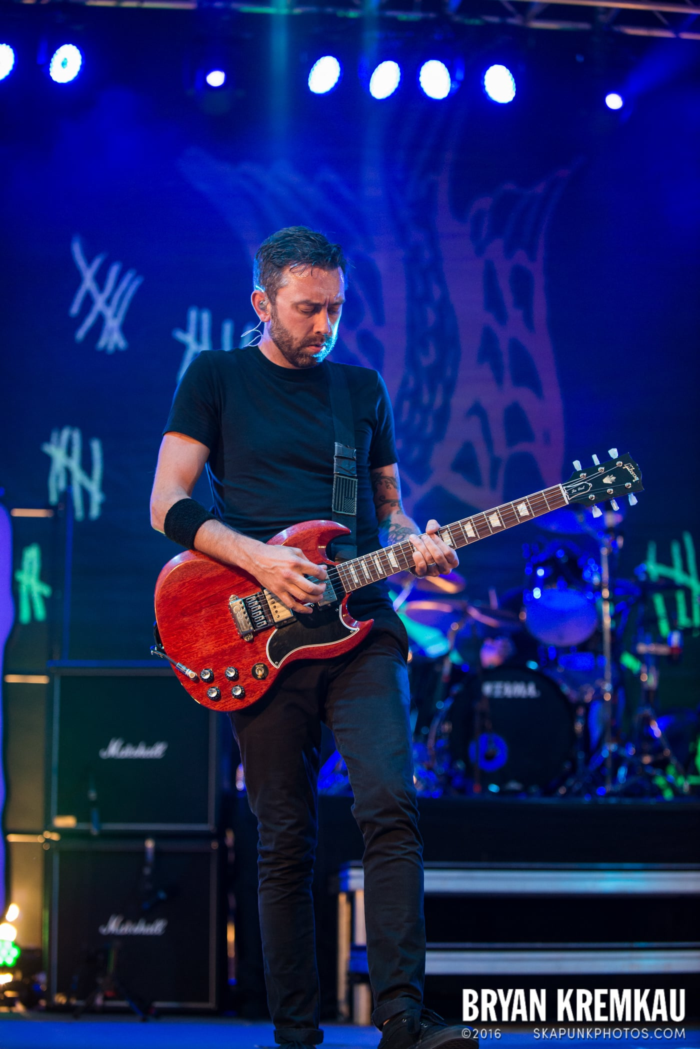 Rise Against @ Central Park SummerStage, NYC - 7.28.15 (29)