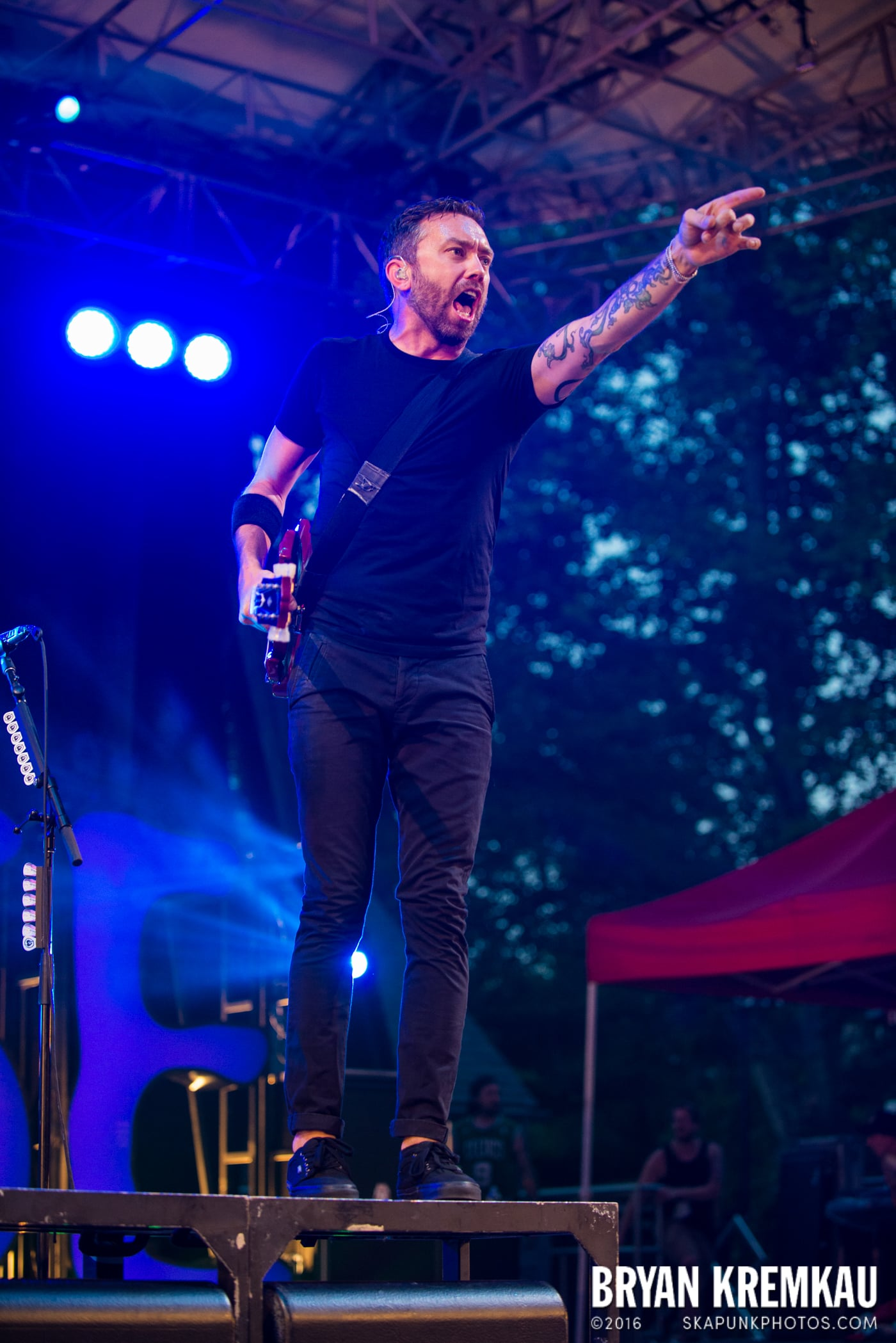 Rise Against @ Central Park SummerStage, NYC - 7.28.15 (25)