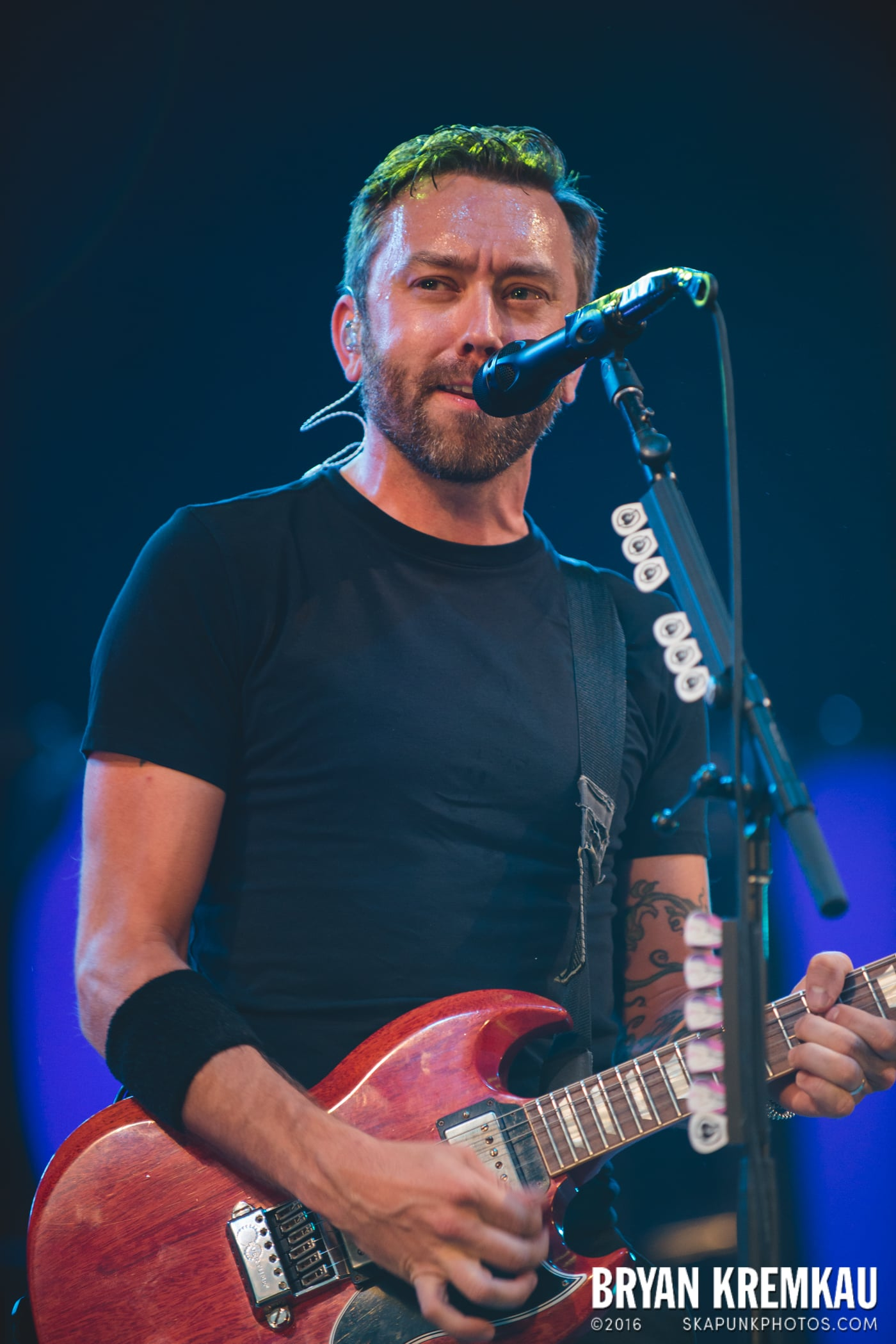 Rise Against @ Central Park SummerStage, NYC - 7.28.15 (23)