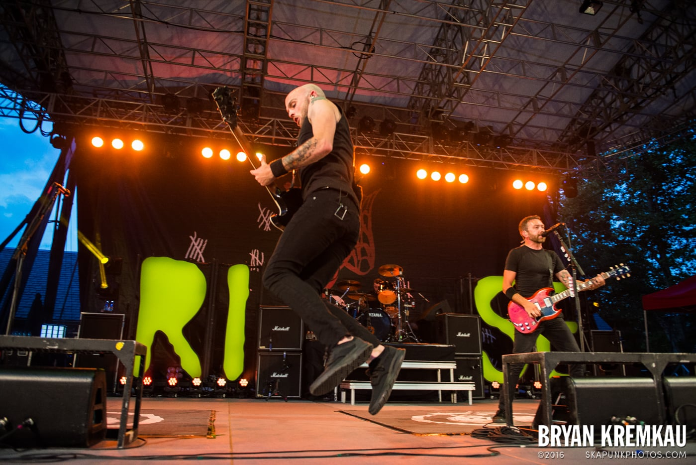 Rise Against @ Central Park SummerStage, NYC - 7.28.15 (18)