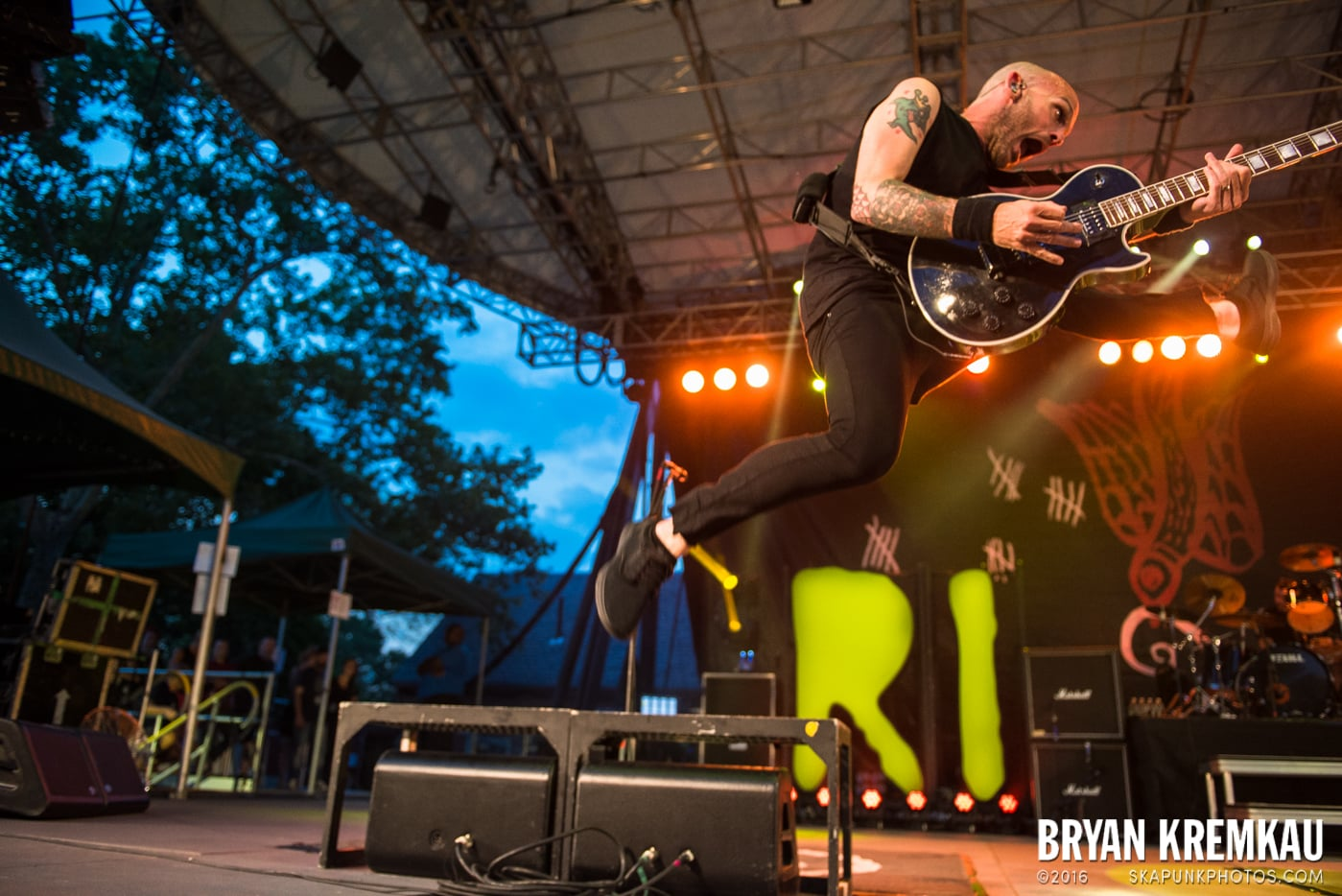 Rise Against @ Central Park SummerStage, NYC - 7.28.15 (17)