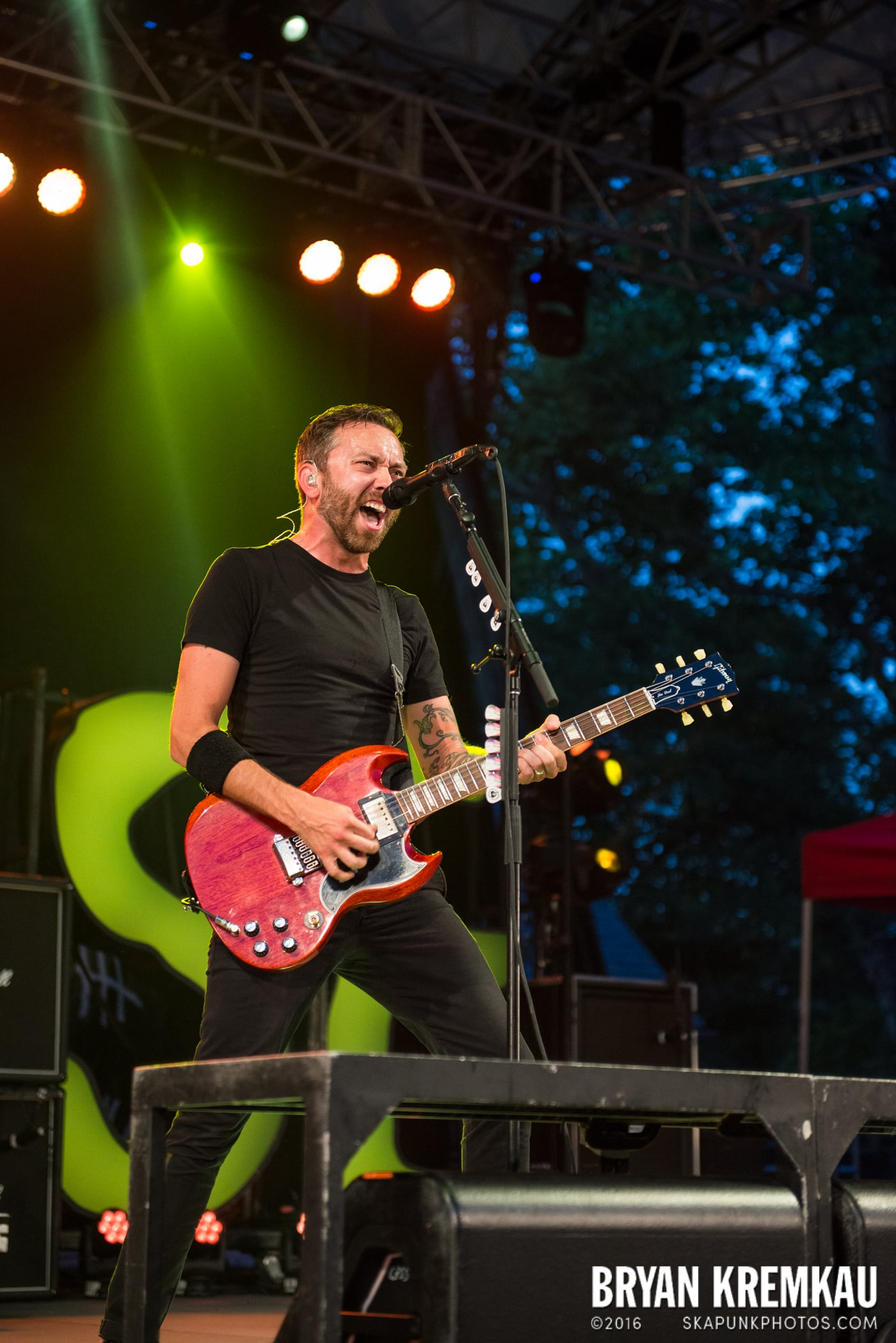 Rise Against @ Central Park SummerStage, NYC - 7.28.15 (14)