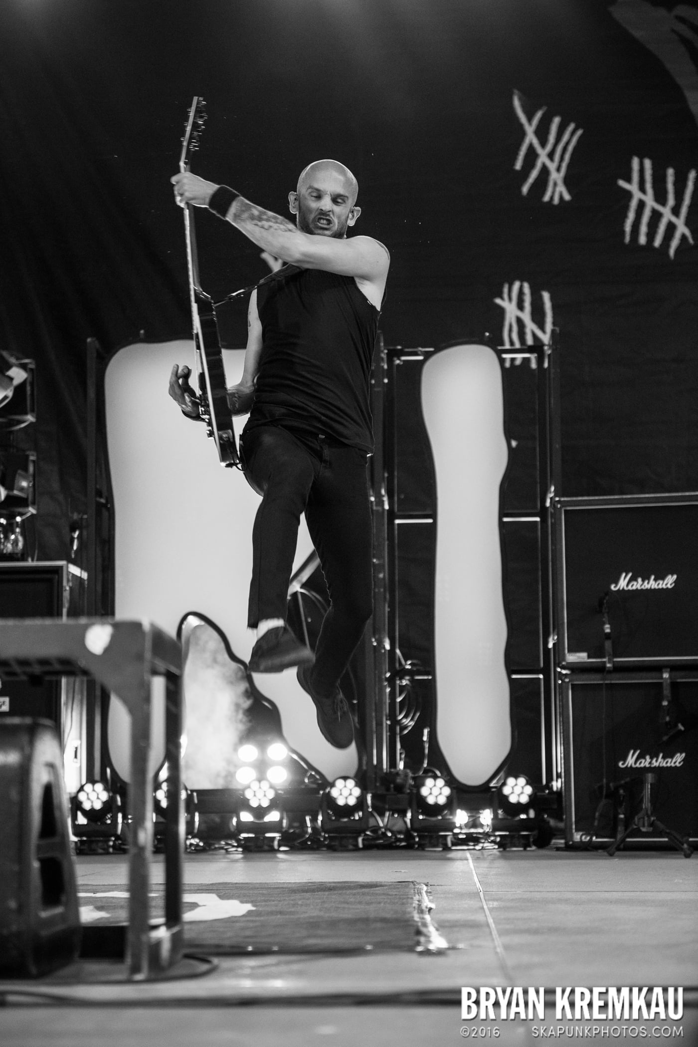 Rise Against @ Central Park SummerStage, NYC - 7.28.15 (11)