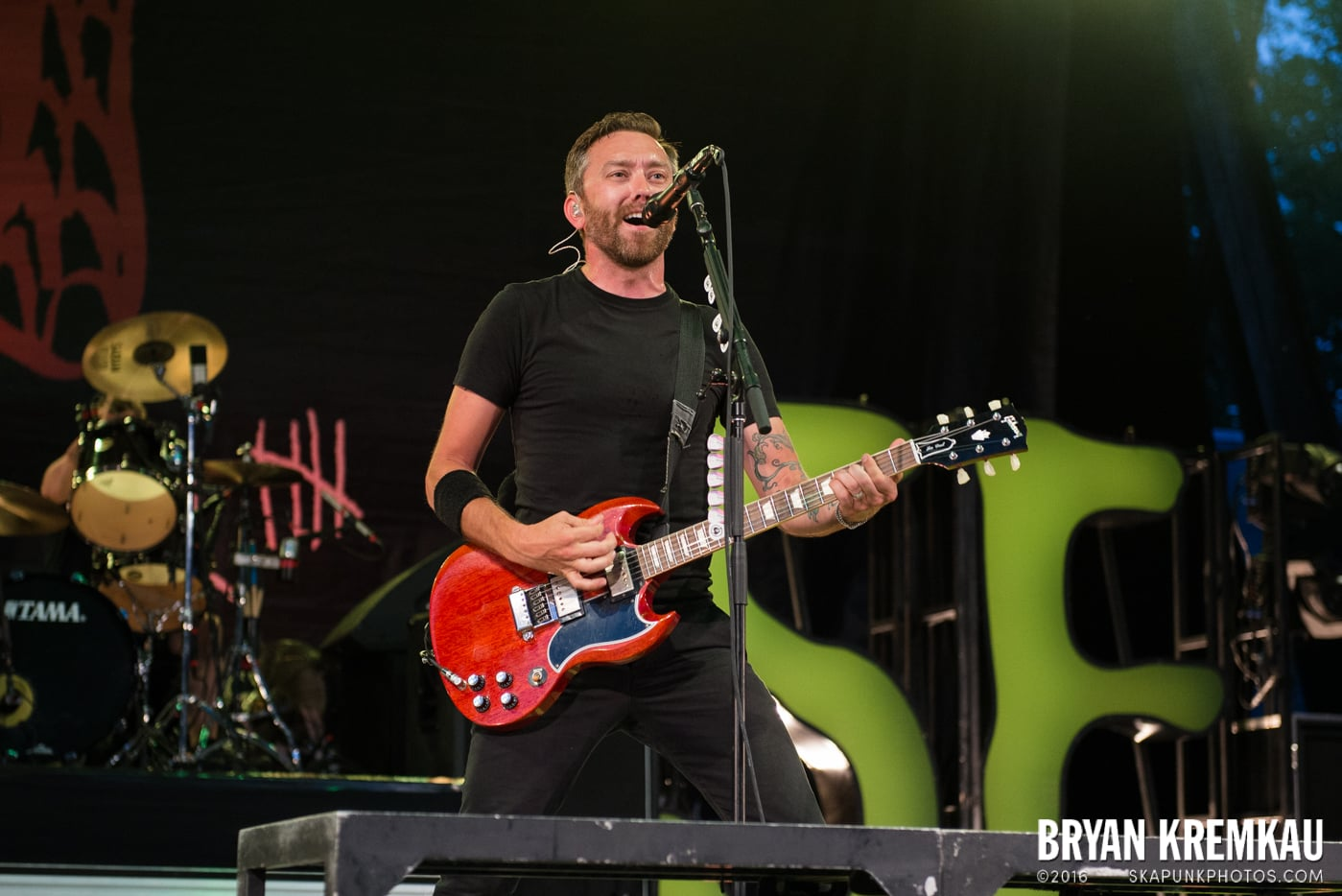Rise Against @ Central Park SummerStage, NYC - 7.28.15 (10)