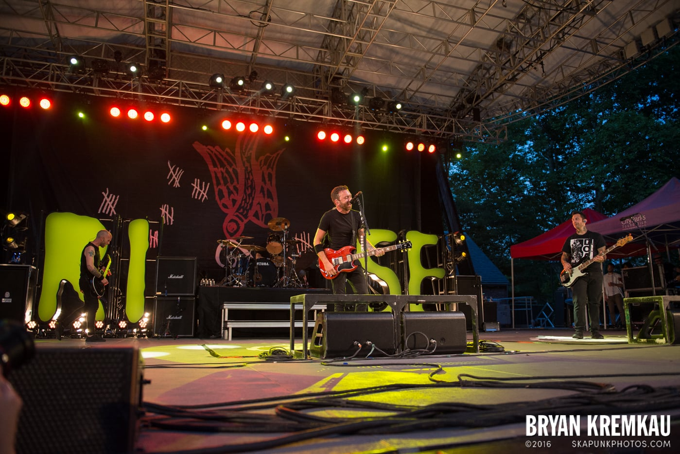 Rise Against @ Central Park SummerStage, NYC - 7.28.15 (9)