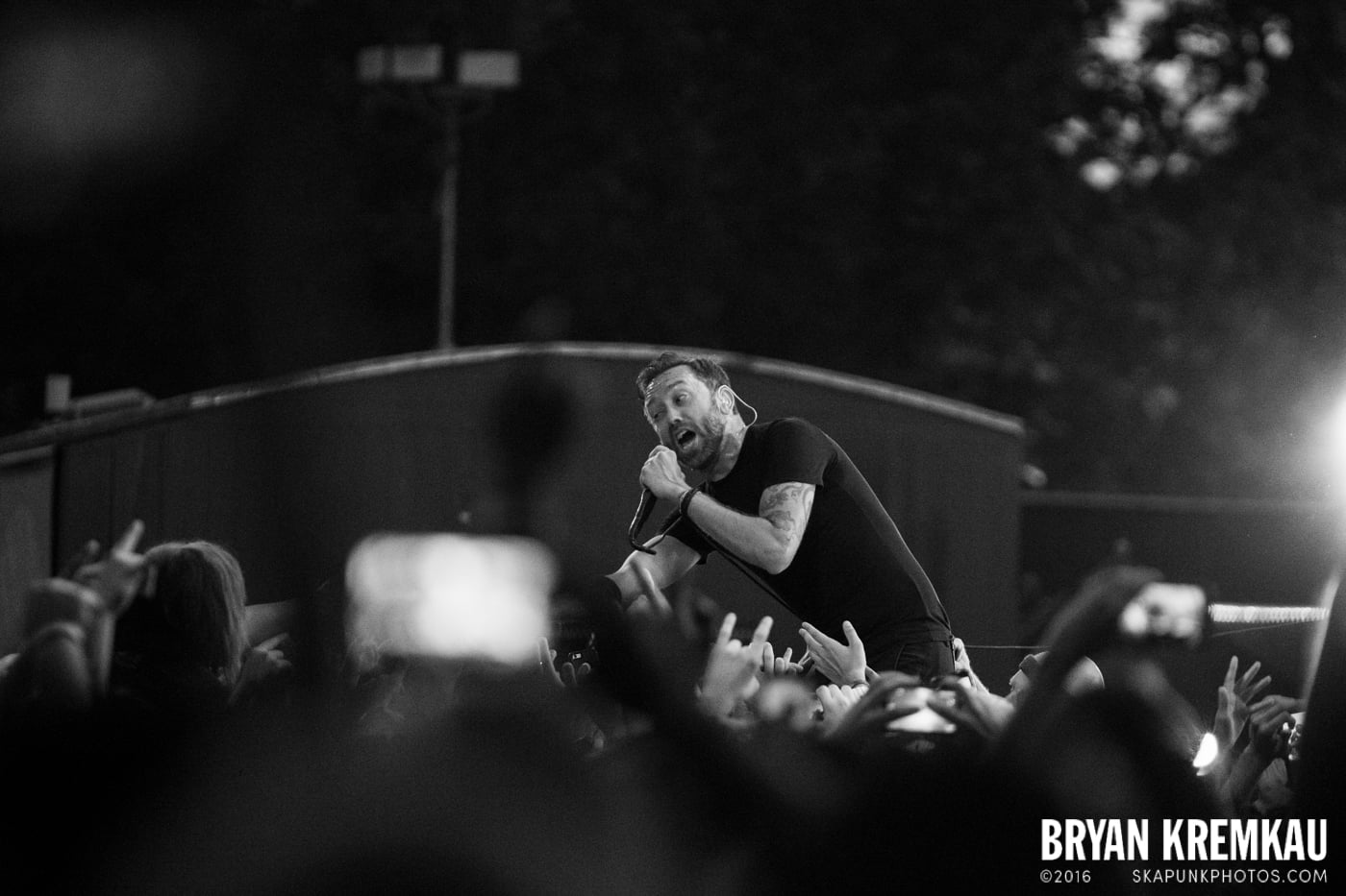Rise Against @ Central Park SummerStage, NYC - 7.28.15 (7)