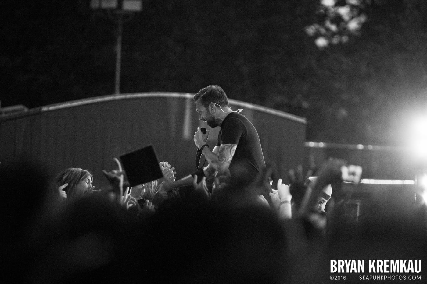 Rise Against @ Central Park SummerStage, NYC - 7.28.15 (6)