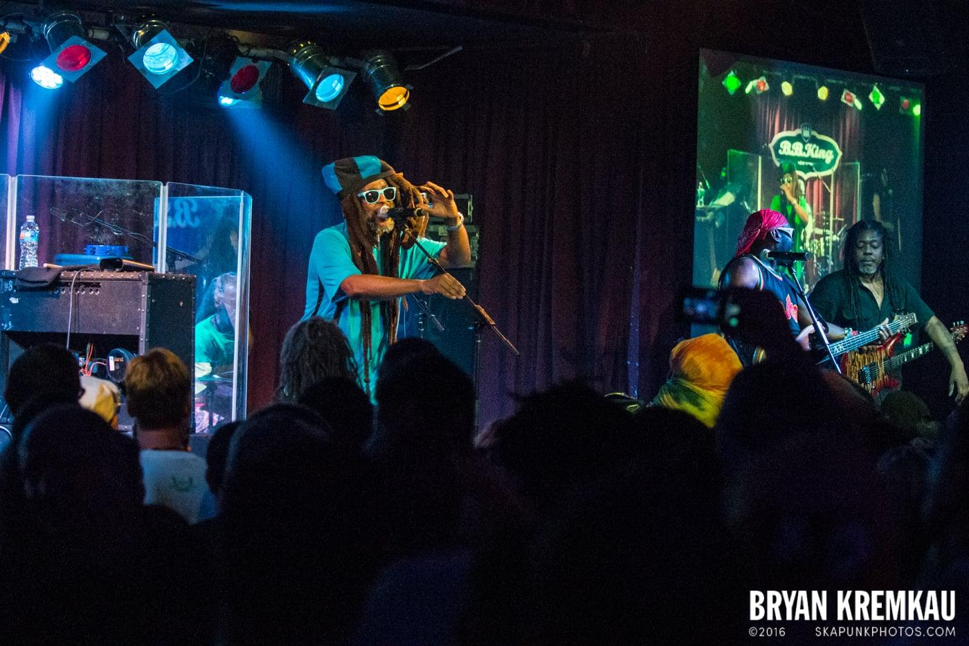 Steel Pulse @ B.B King Blues Club, NYC (16)
