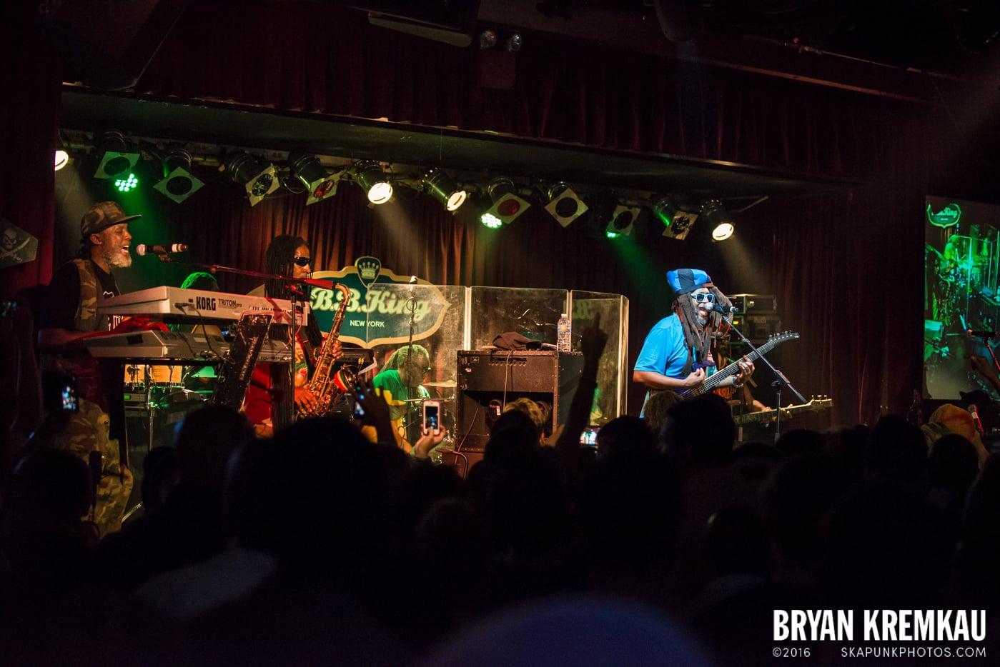 Steel Pulse @ B.B King Blues Club, NYC (8)