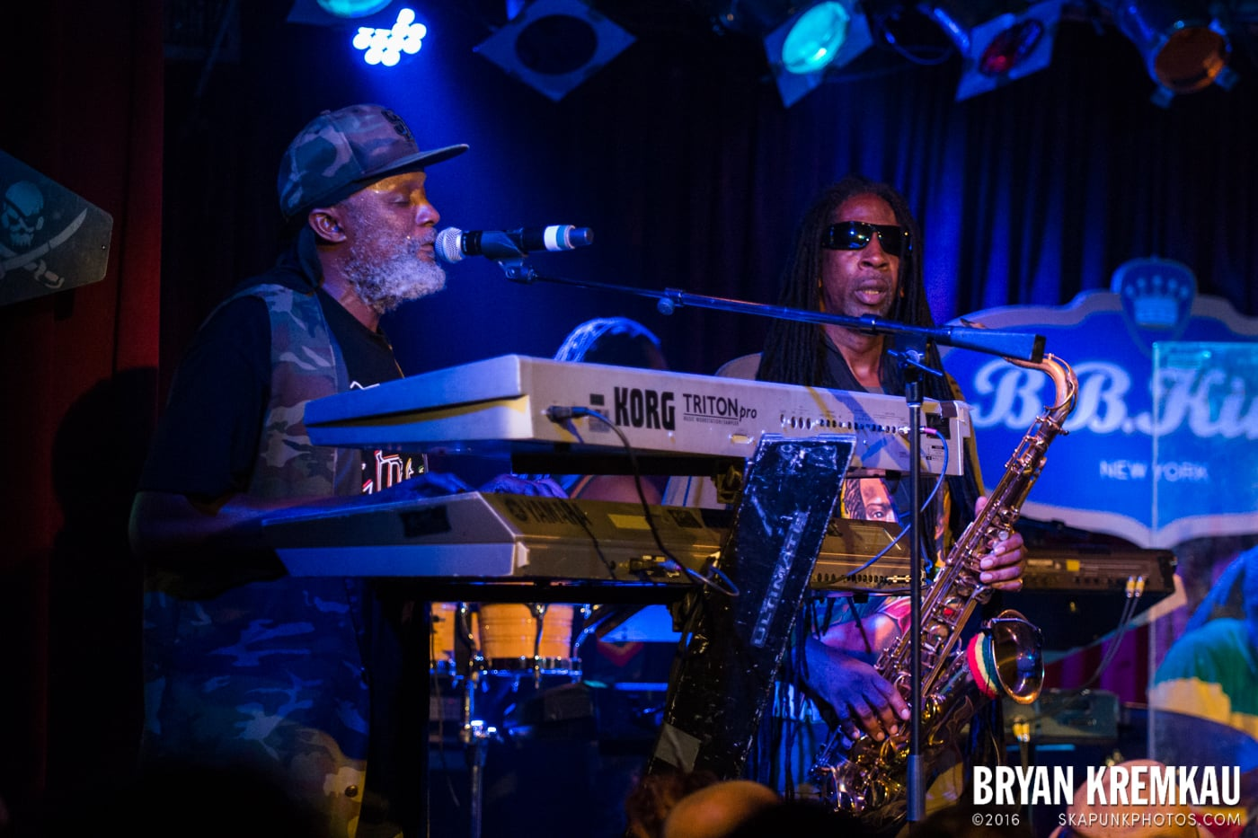 Steel Pulse @ B.B King Blues Club, NYC (4)