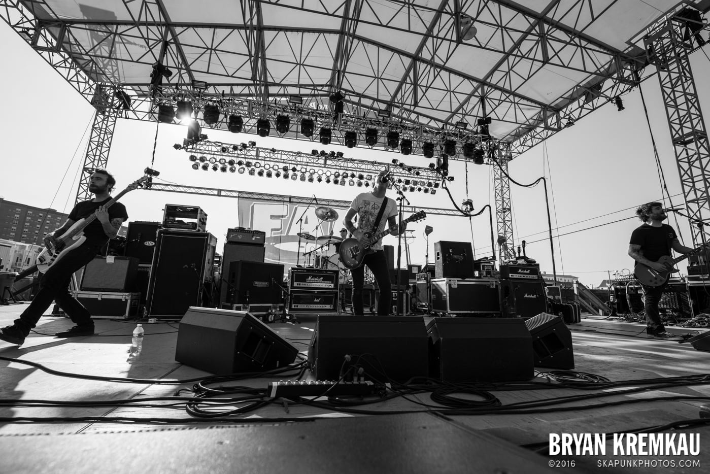 The Flatliners @ Stone Pony Summer Stage, Asbury Park, NJ - 8.15.15 (6)