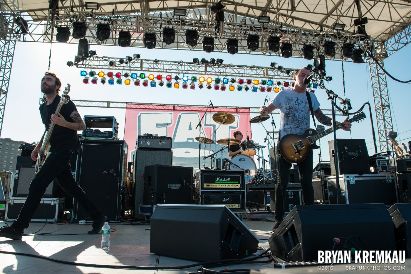 The Flatliners @ Stone Pony Summer Stage, Asbury Park, NJ - 8.15.15 (4)