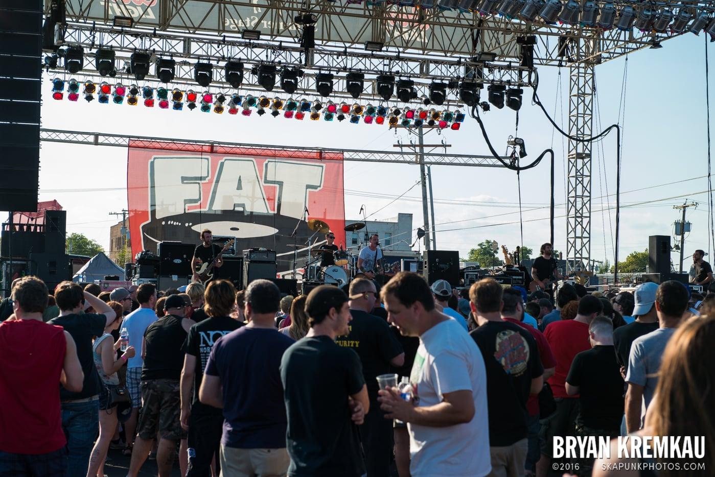 The Flatliners @ Stone Pony Summer Stage, Asbury Park, NJ - 8.15.15 (1)