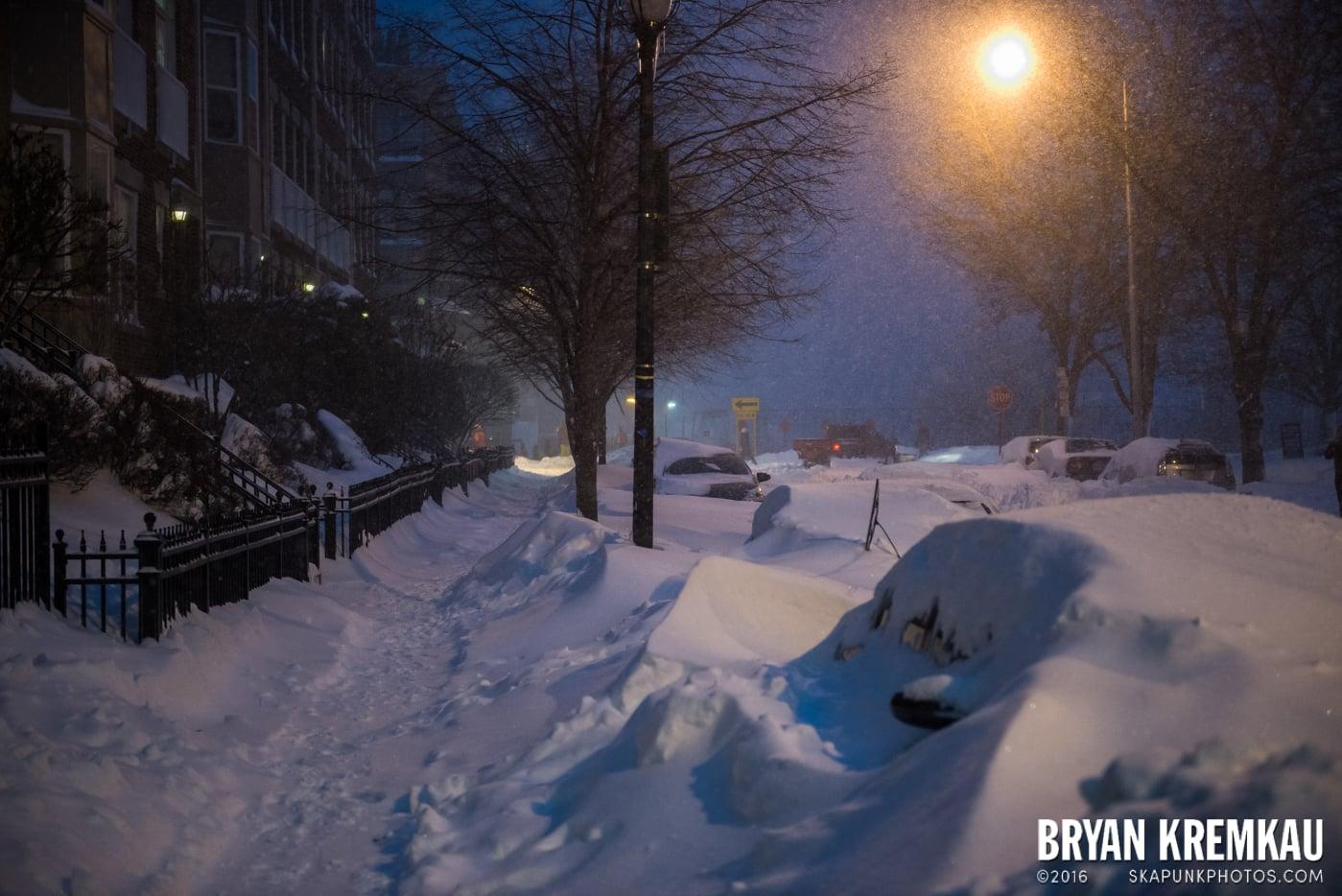 Blizzard 2016 in Jersey City, NJ - 1.23.16 (25)