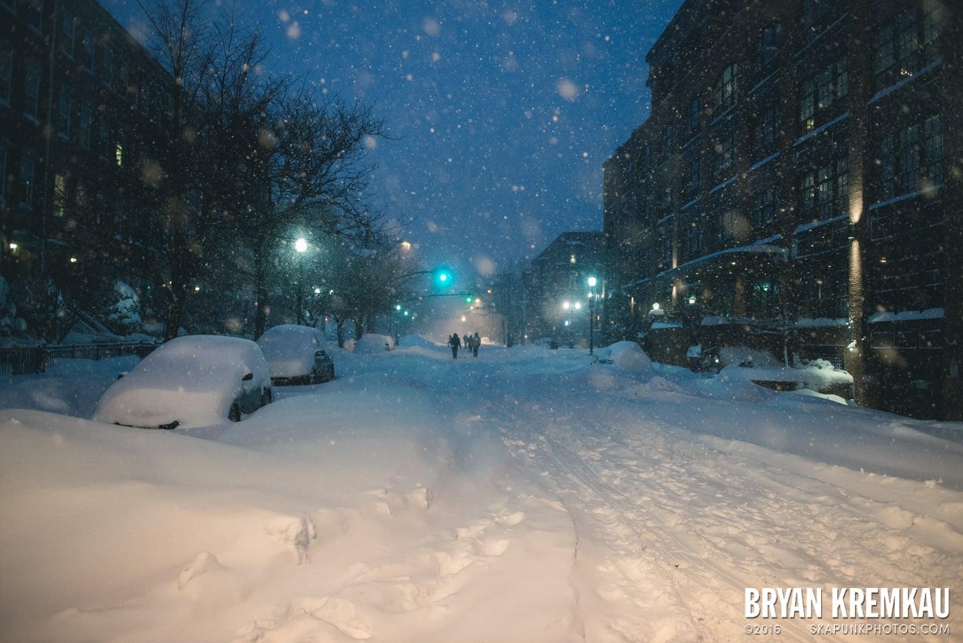 Blizzard 2016 in Jersey City, NJ - 1.23.16 (24)