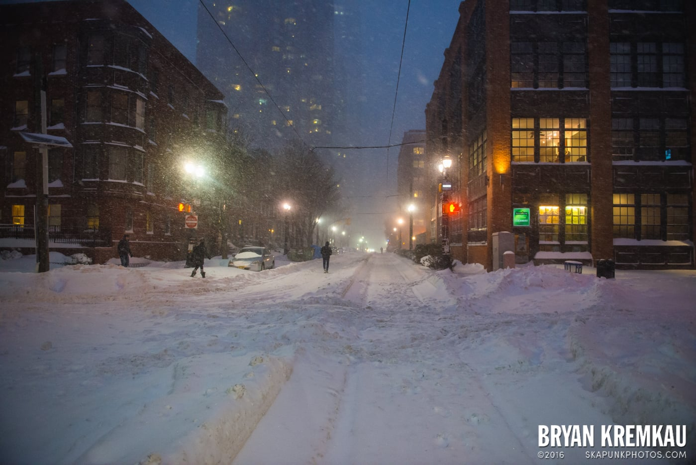 Blizzard 2016 in Jersey City, NJ - 1.23.16 (22)