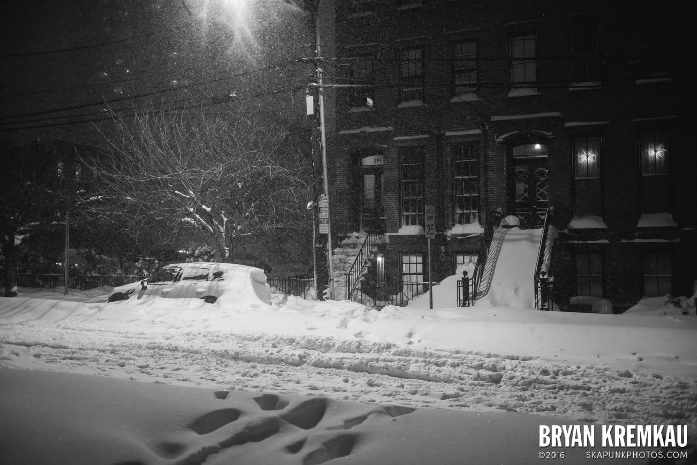 Blizzard 2016 in Jersey City, NJ - 1.23.16 (21)