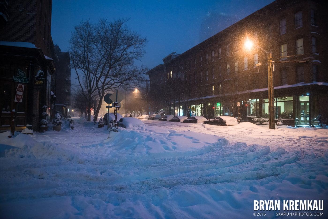 Blizzard 2016 in Jersey City, NJ - 1.23.16 (20)