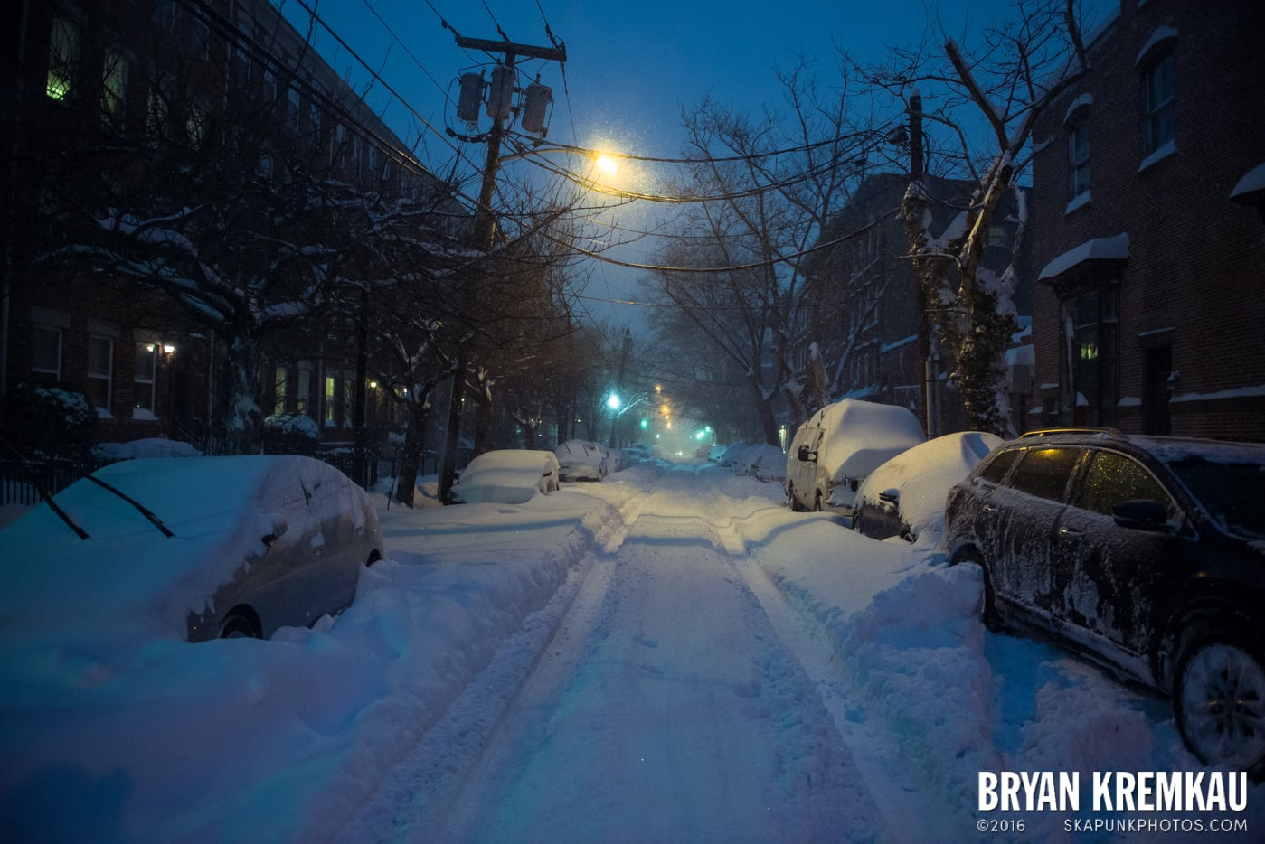Blizzard 2016 in Jersey City, NJ - 1.23.16 (19)