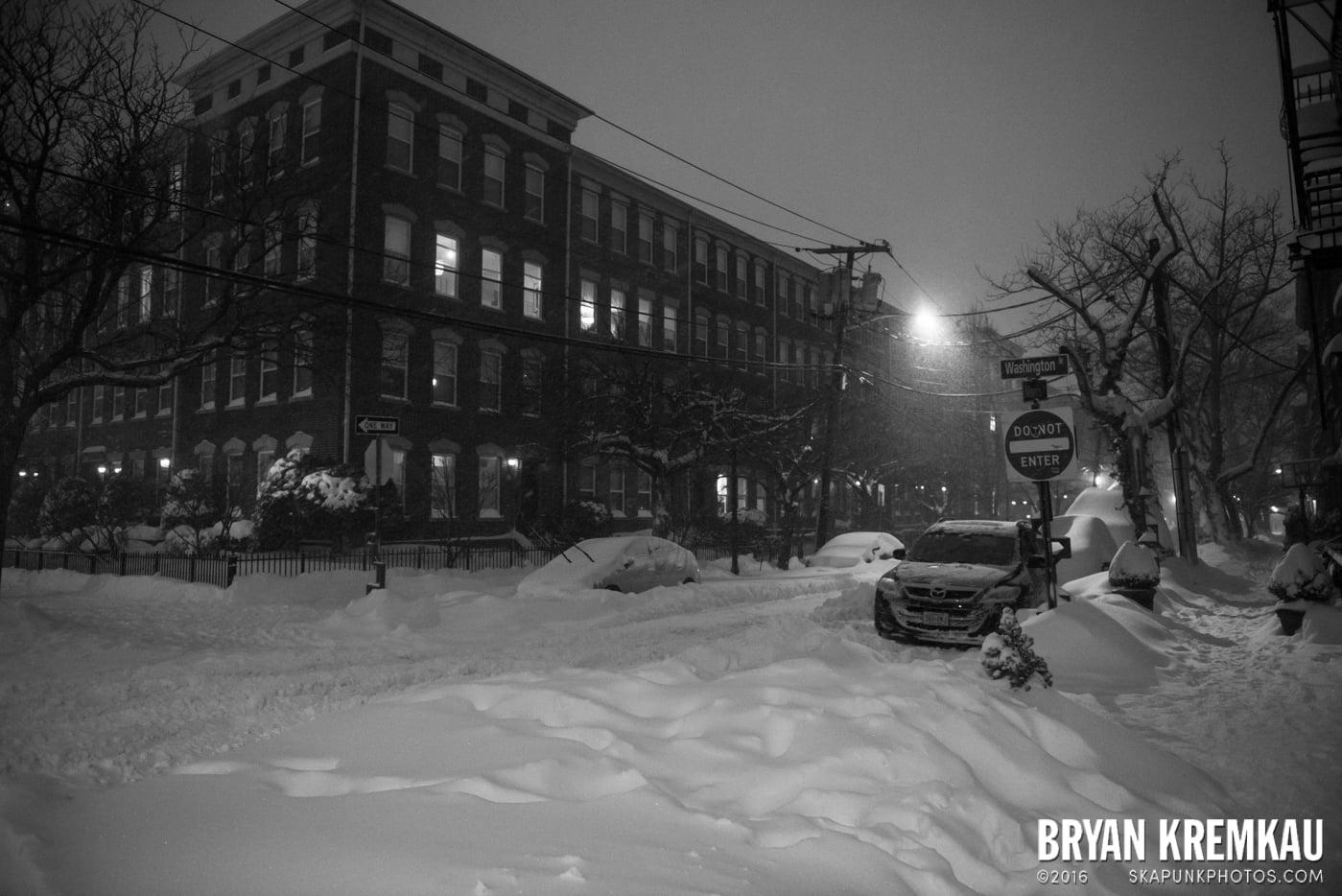 Blizzard 2016 in Jersey City, NJ - 1.23.16 (18)
