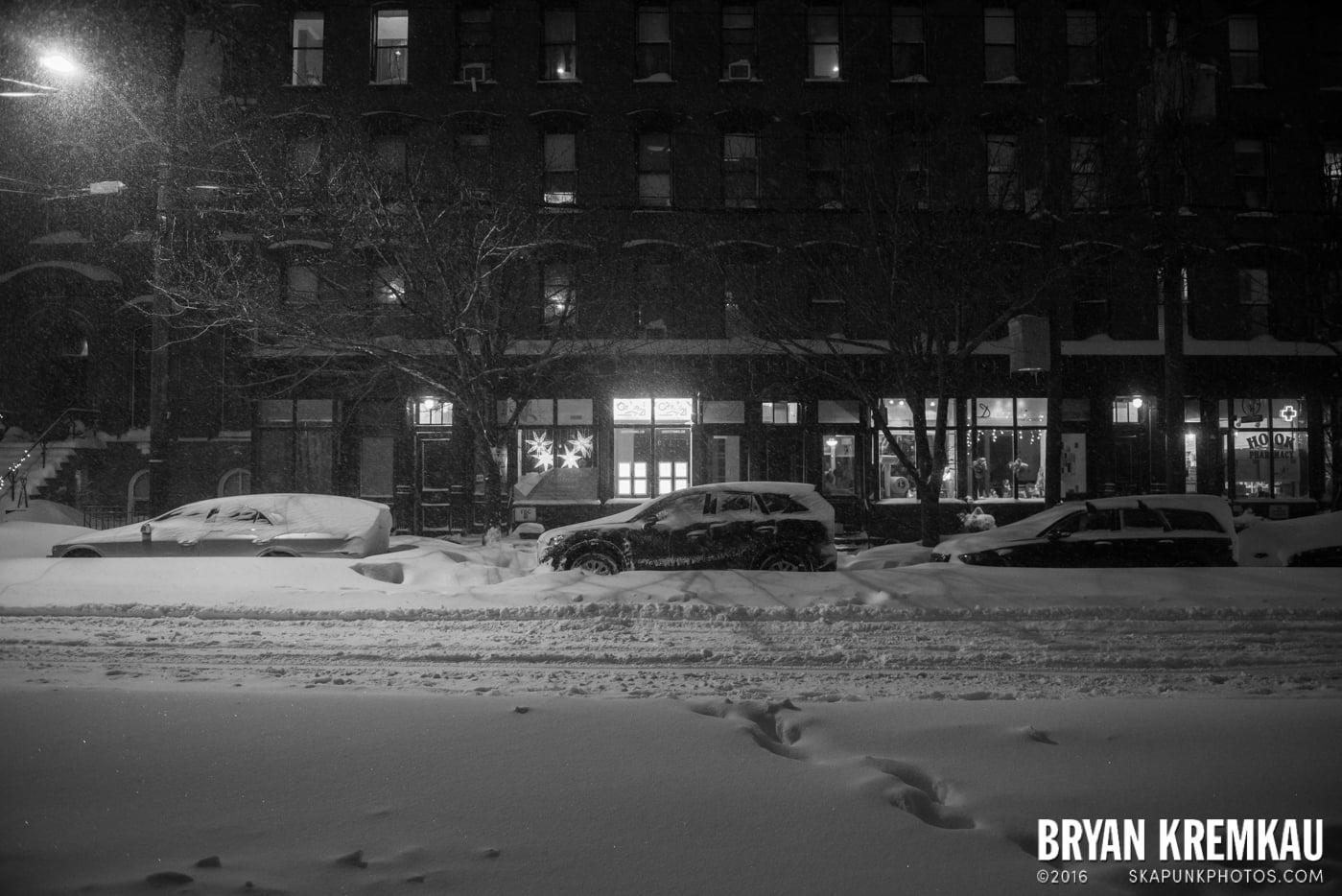 Blizzard 2016 in Jersey City, NJ - 1.23.16 (17)