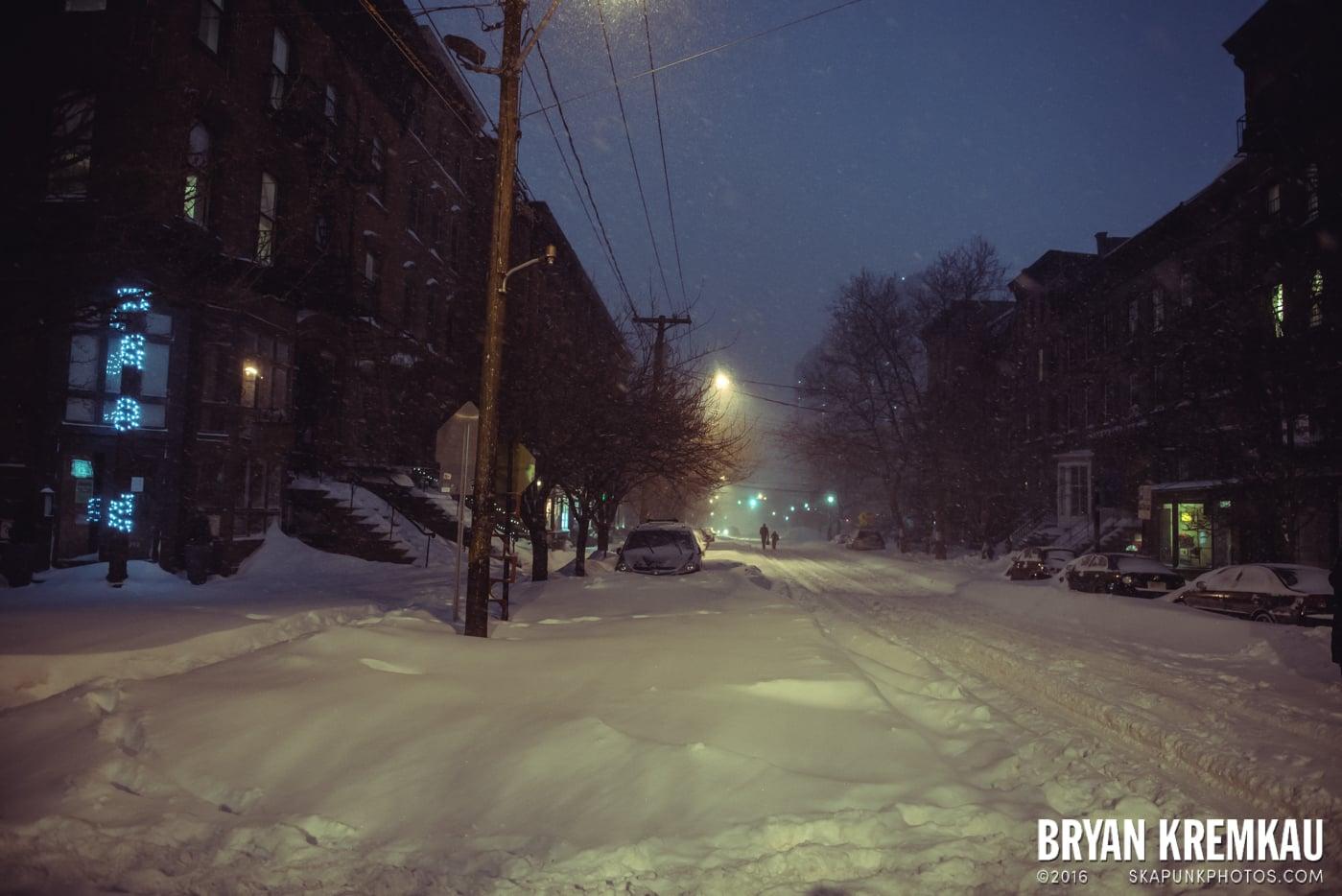 Blizzard 2016 in Jersey City, NJ - 1.23.16 (16)